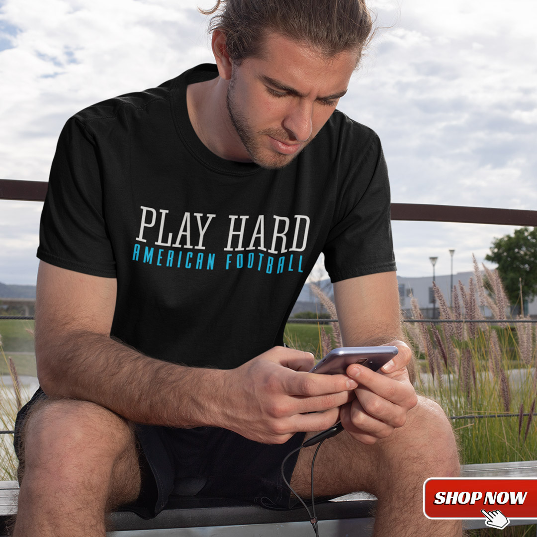 American Football Schweiz Shop Play Hard Design