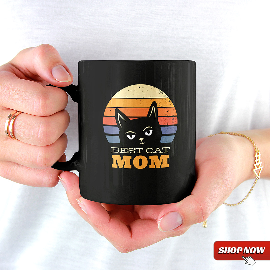 Best Cat Mom Ever Tasse T Shirt Frauen Coffee Mug