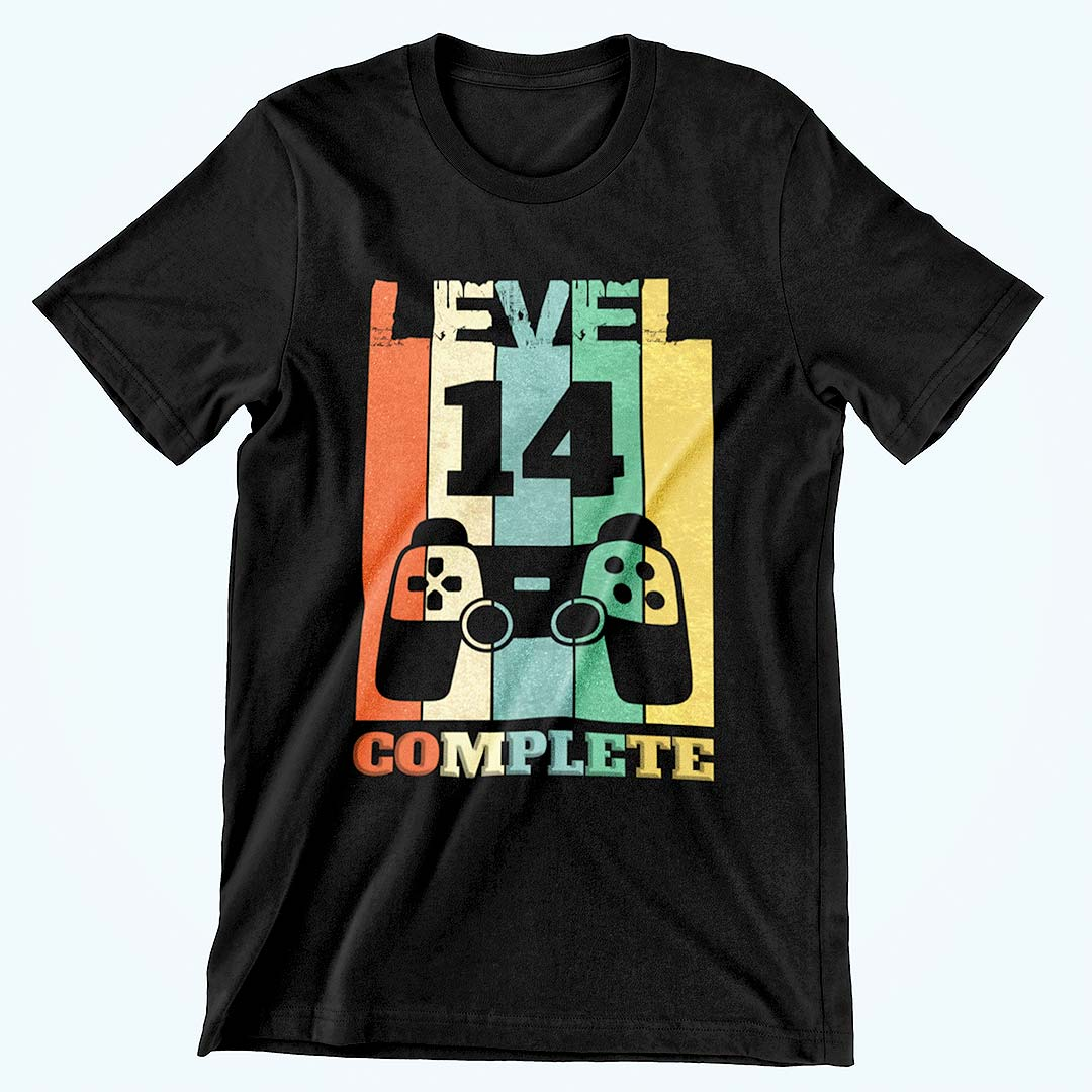 level 14 complete tshirt