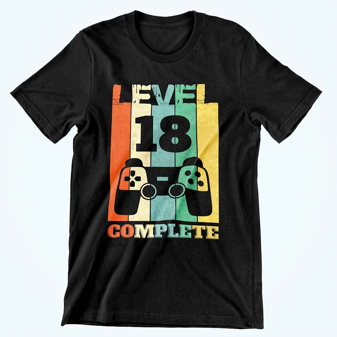 Level 18 Complete Shirt Geburtstag
