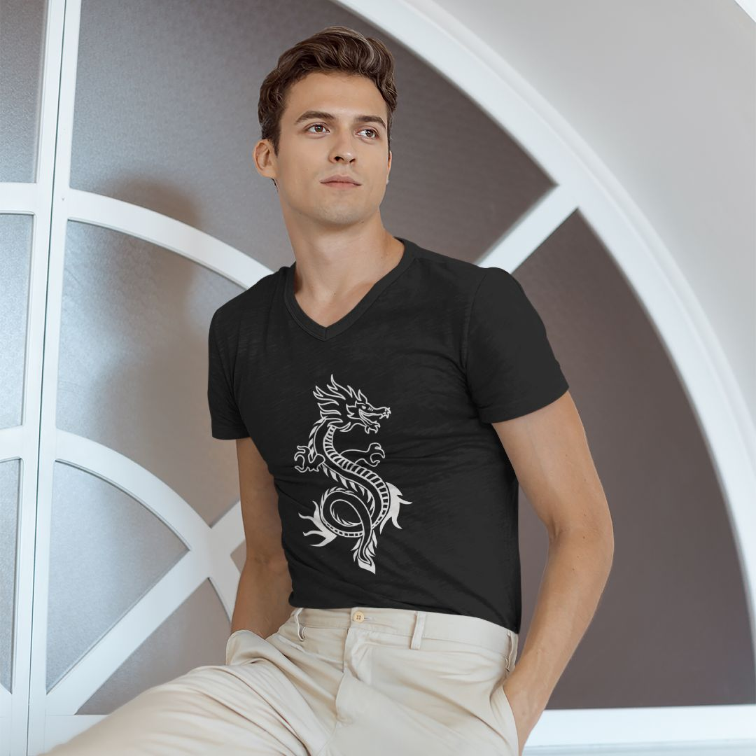 Dragon Silhouette Fashion Shirt