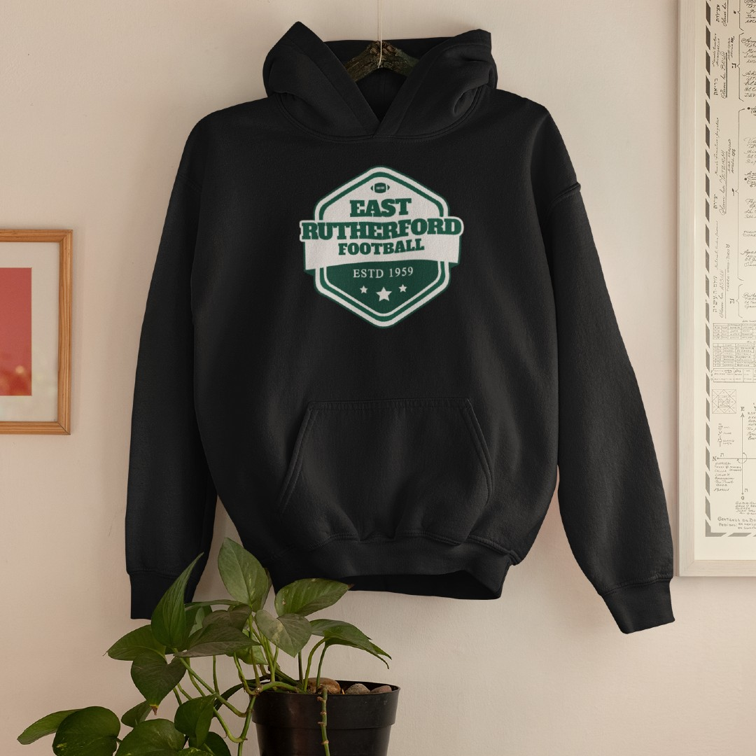 Football East Rutherford Hoodie