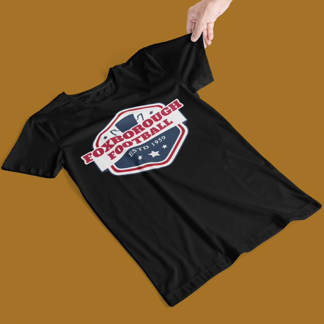 Foxborough Football Shirt Design