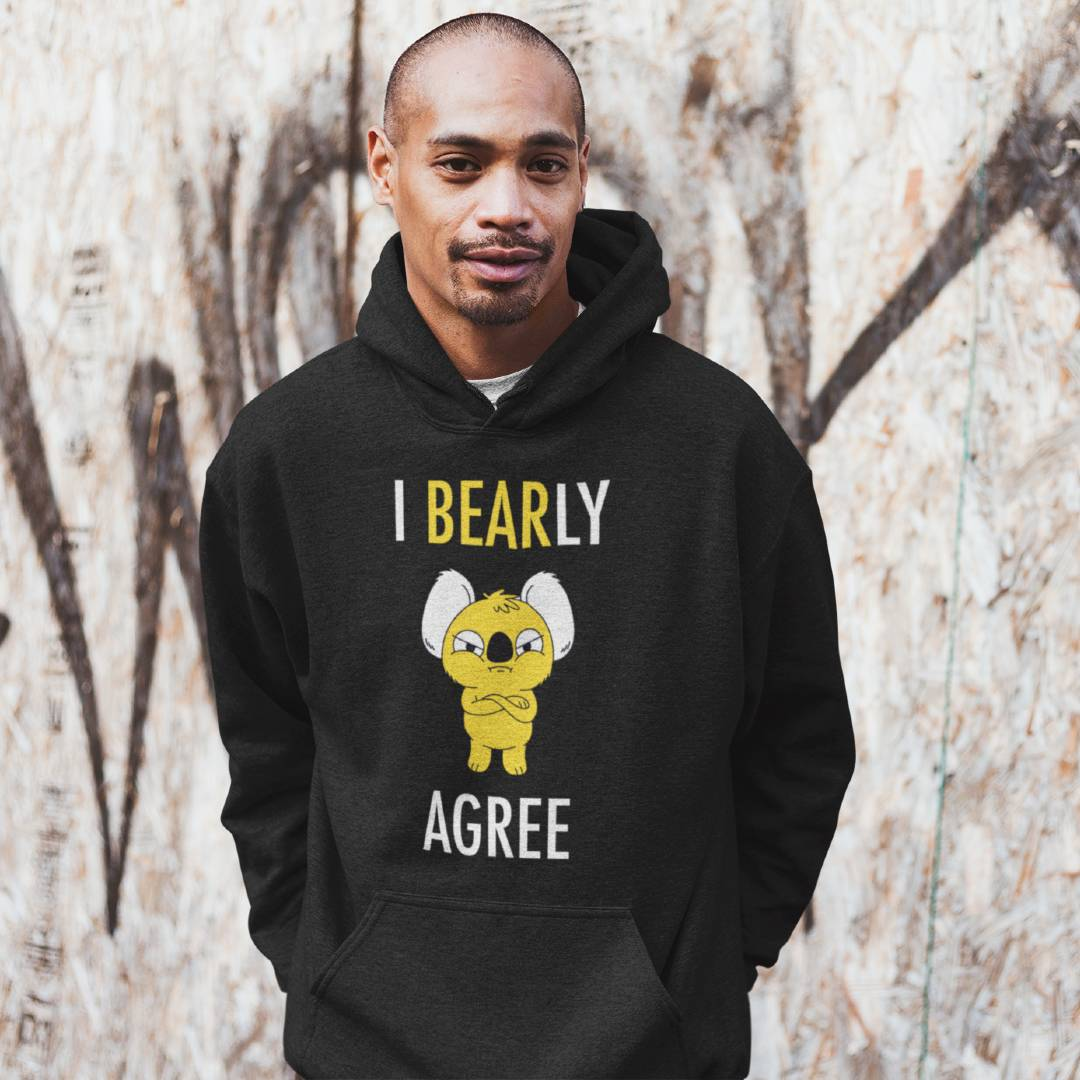 Funny Sarcastic I Bearly Agree Gift