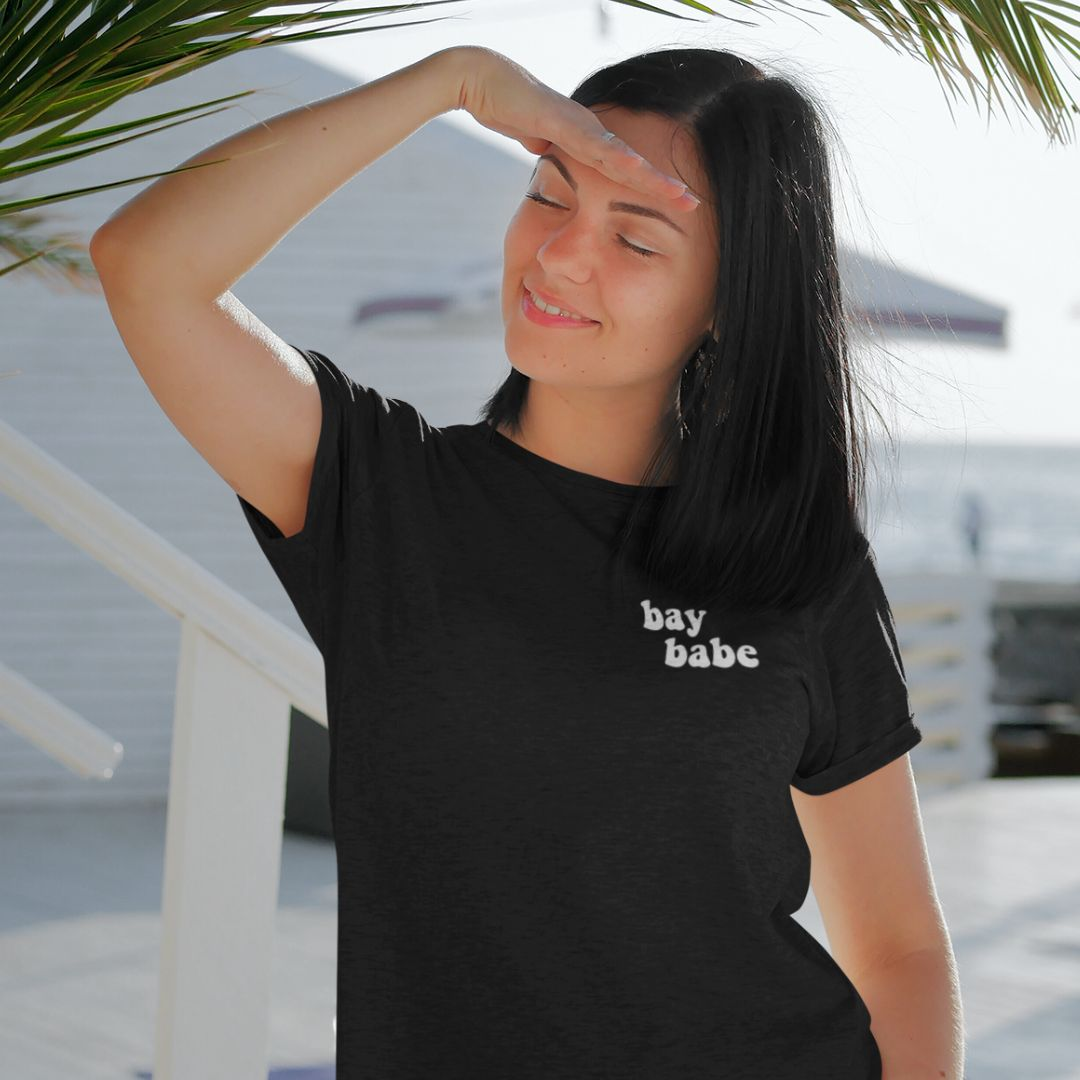 Bay Babe Beach Outfit Ideen