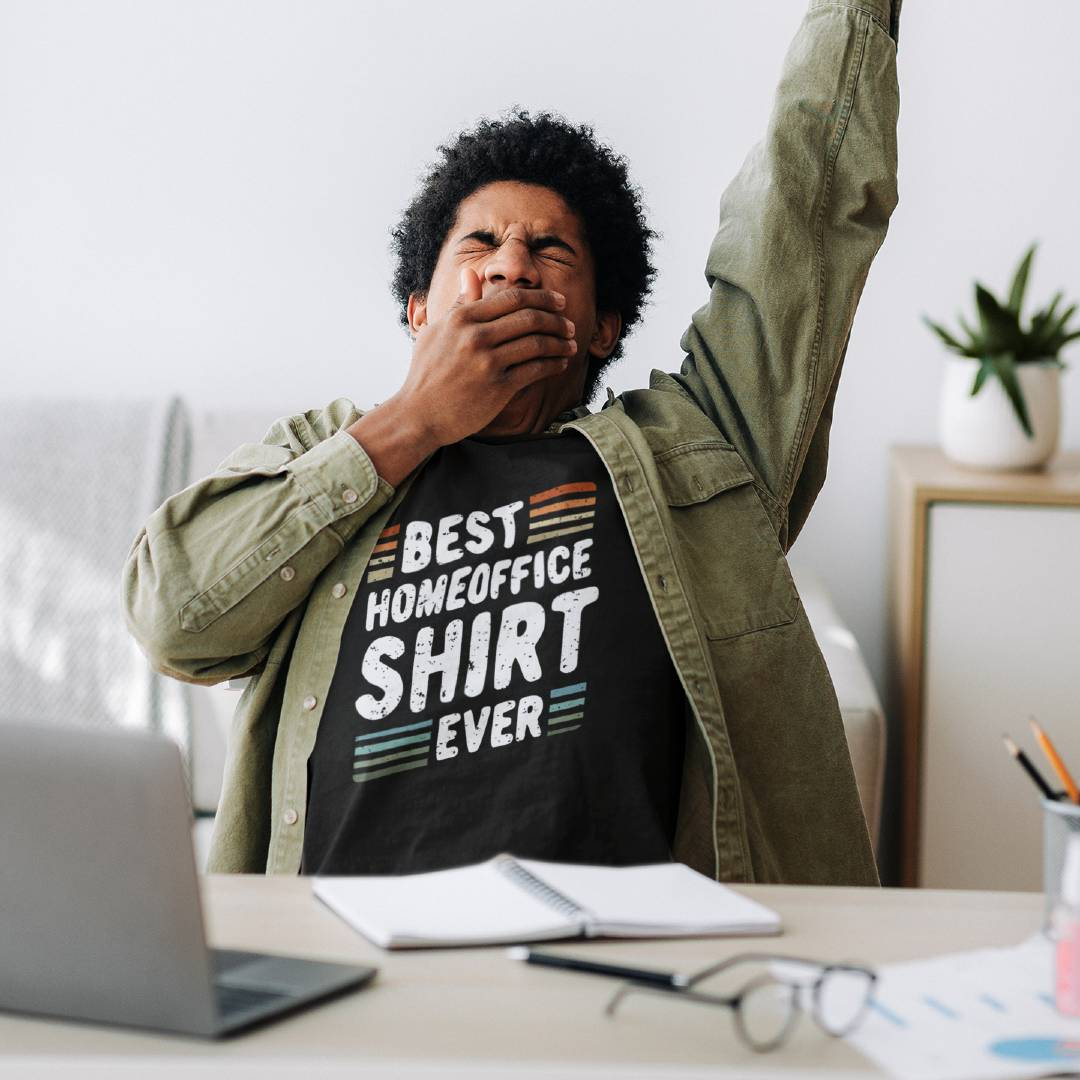 Bestes Home Office T-Shirt Design