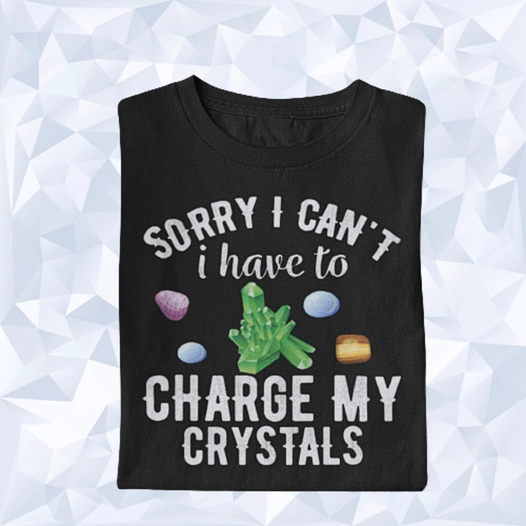 I Have to Charge my Crystals Kristall Geistheilen