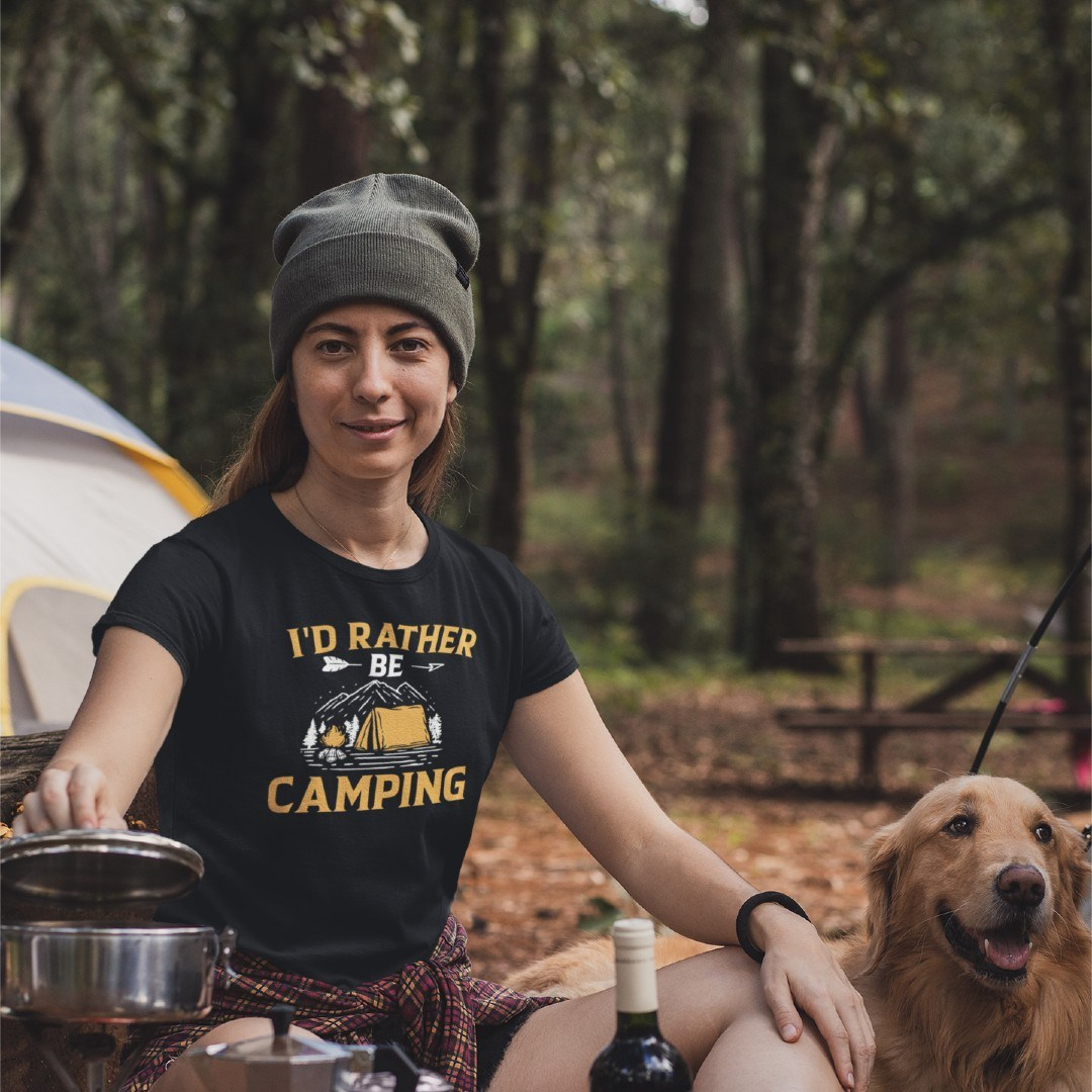 I'd Rather be Camping Camping Glamping Wohnmobil