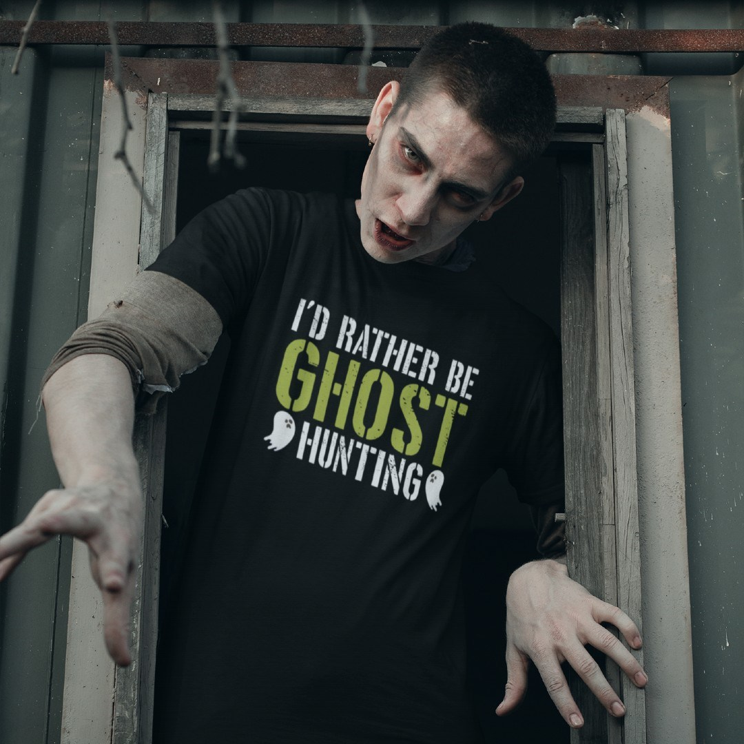 I'd Rather be Ghost Hunting Halloween Hexen