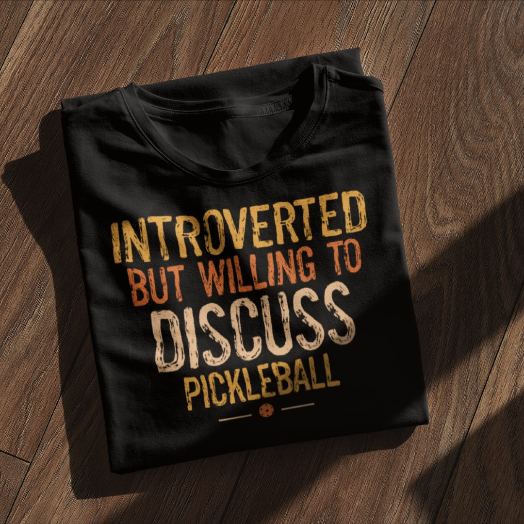 Introverted but Willing to Discuss Sport Padel
