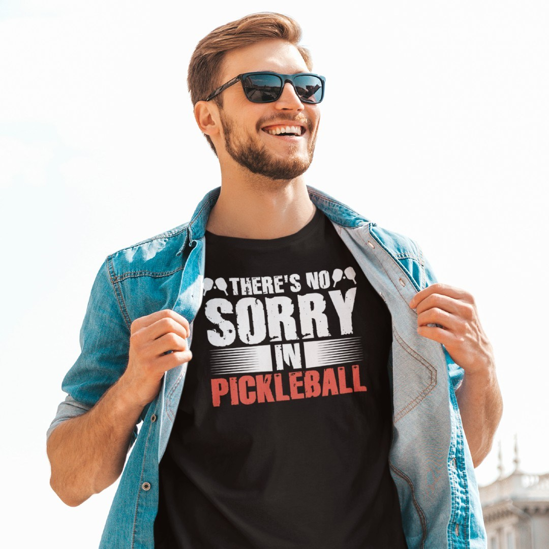 There's No Sorry in Pickleball Padel Dink Kitchen
